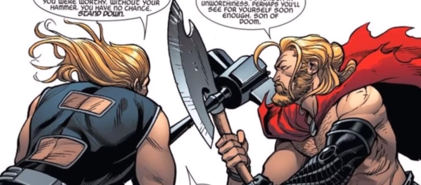 avengers infinity war spoilers thor gets a new weapon in the film