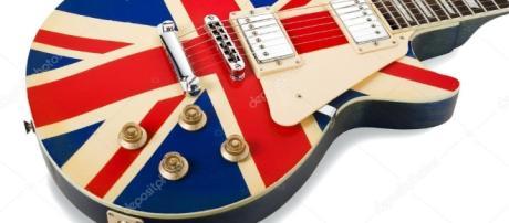 Brit pop electric guitar — Stock Photo © estudiosaavedra #36655173 - depositphotos.com