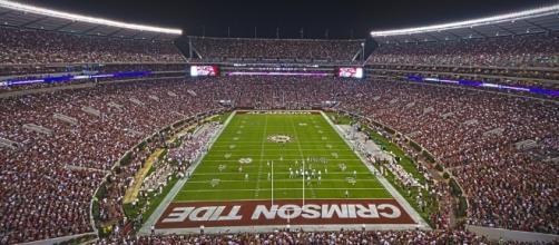 Alabama home stadium, Flickr Keith Allison