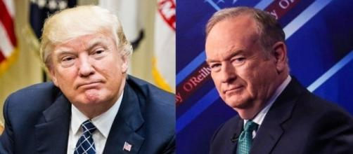 Donald Trump, Bill O'Reilly, via Twitter