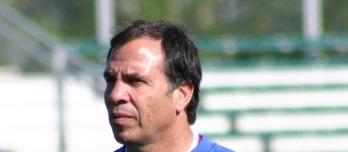 Former US soccer national team coach Bruce Arena during a past practice session with the team.[image credit; Jarret Campbell/wikimedia]