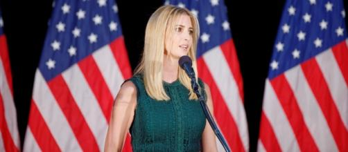 Ivanka Trump delivering a speech, Image Credit: Michael Vadon / Flickr