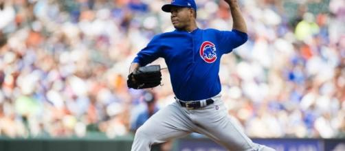 Jose Quintana makes history in lights-out Cubs debut vs. Orioles ... -[MLB/YouTube]
