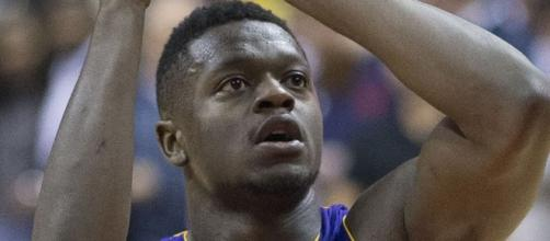 Julius Randle will have to wait until the end of this NBA season for another contract. [Image Credit: Keith Allison/Flickr]