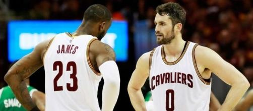 Kevin Love says LeBron told him his position change - (Image: YouTube/Cavaliers)