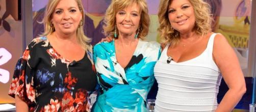 María Teresa Campos, Carmen y Terelu.