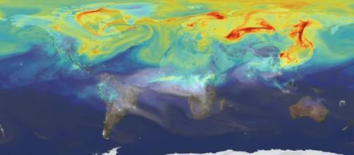 NASA's OCO-2 mission reveals new study on climate change [image via YouTube/ NASA Goddard]