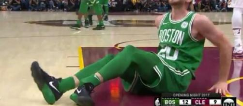 Season over- HAYWARD FRACTURES ANKLE in 1st quarter - Image via celticsblog.com