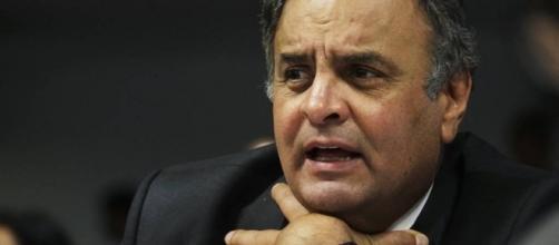 Senador Aécio Neves (PSDB) está afastado do cargo