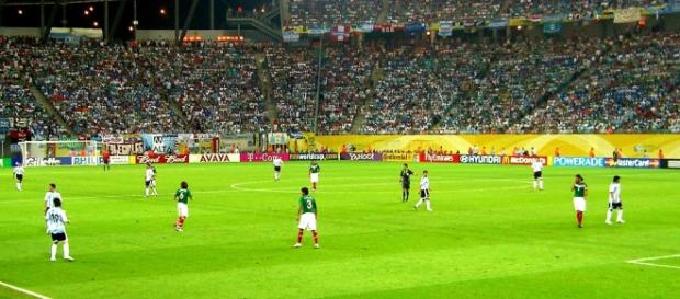 Argentina versus Mexico at India U17 FIFA World Cup. (Image Wikipaedia - no photographer cited)