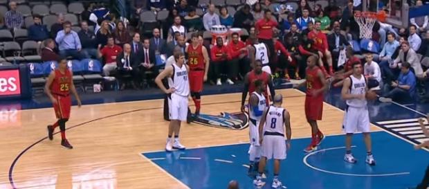 Atlanta Hawks vs Dallas Mavericks via Motion Station youtube channel