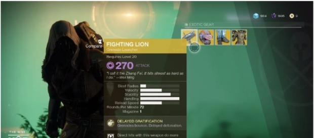 'Destiny 2' exotic merchant Xur location and offered items revealed [Image Credit: Glixel/YouTube]