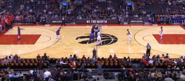 Detroit Pistons vs Toronto Raptors on October 10, 2017 NBA Preseason [Image Credit:Ximo Pierto/YouTube]