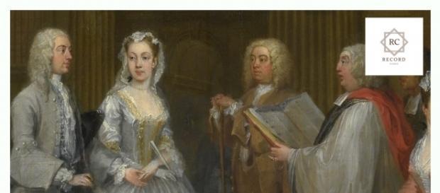 Il matrimonio segreto - Frontcover della release. Fonte: www.rcrecordclassic.com