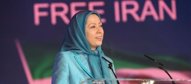 Maryam Rajavi, President-elect of the National Council of Resistance of Iran (NCRI), Photo credit: Siavosh Hosseini