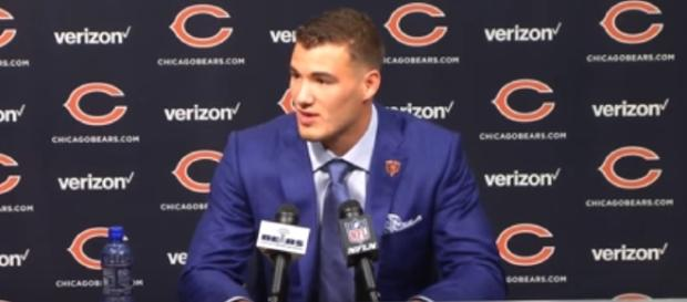 The Browns targeted Mitchell Trubisky at no.1 – image – Bears channel /Youtube