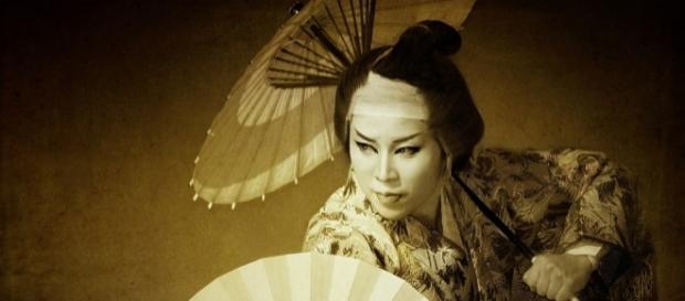 Una performer dei Manjushaka (foto da sito Lailac)