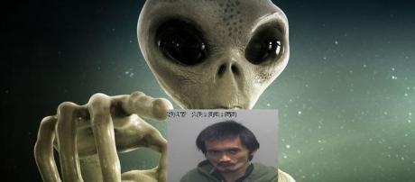 Rapaz jura manter comunicação com extraterrestres. Será? (foto homem: Sheboygan County Sheriff's Office)
