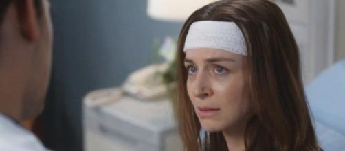 Amelia and Andrew post surgery. (Image Credit - Grey's Anatomy Grey Sloan/YouTube Screenshot)