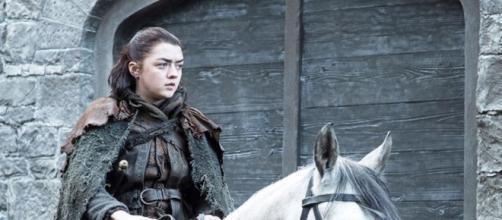 Arya Stark, l'attrice di Game of Thrones