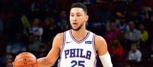 Ben Simmons scored 19 points in a Sixers preseason win over Miami on Friday. [Image via NBA/YouTube]