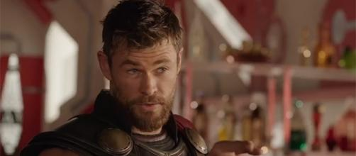 "Chris Hemsworth shows off his comedic chops in the upcoming Marvel film, ""Thor: Ragnarok."" (Marvel Entertainment/YouTube)"