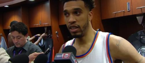 Courtney Lee is expected to be on trading block this season – image – NBA channel/Youtube
