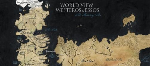 Entender o mapa de Westeros e Essos pode ser um verdadeiro desafio.