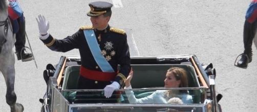 Felipe VI y Doña Letizia en el día de la proclamación.
