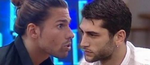 Jeremias e Luca Onestini ai ferri corti al GF Vip.