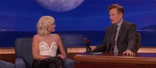 Malin Akerman is engaged to boyfriend Jack Donnelly. Image Credit: YouTube/Teamcoco