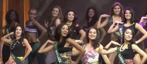 Miss Earth delegates in their opening number, Image Credit: Miss Earth/YouTube