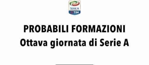 Probabili formazioni Serie A: 8° giornata - radiogoal24.it