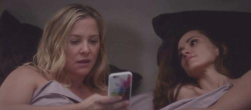 Sophia Sloan comes home to Seattle. (Image Credit - Grey's Anatomy Grey Sloan/YouTube Screenshot)