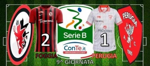 """Termina 2-1 il match dello """"Zaccheria"""" tra Foggia e Perugia"""