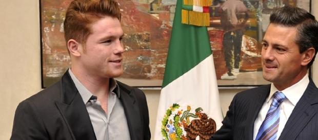 Canelo Alvarez is prioritizing his rematch with Gennady Golovkin/ photo by Presidencia de la República Mexicana/ Flickr