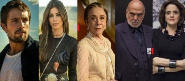Elenco de 'O Outro Lado do Paraíso', nova novela das nove da Globo