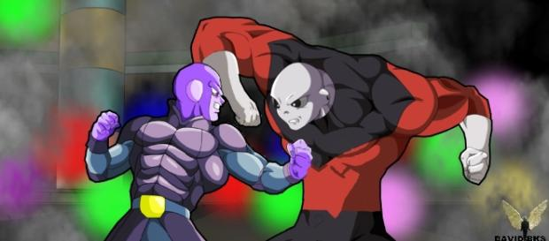 "Hit will fight Jiren in the next episode of ""Dragon Ball Super."" (Image: iHeartBuzz/YouTube)"
