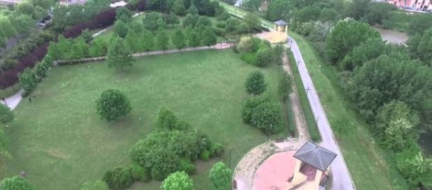 Il parco Ambrogiano a Montelupo, comune alle porte di Firenze, dove è stata trovata la 17enne ferita. Foto: youtube.
