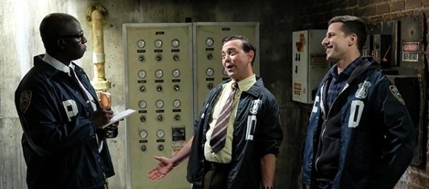 "Jake proves his crime-solving skills in this week's episode of ""Brooklyn Nine-Nine."" (Image Credit: SpoilerTV/FOX)"