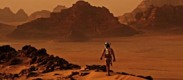 NASA found a solution to protecting astronauts from Mars' radiations. [[Image via YouTube/ 20th Century Fox]]