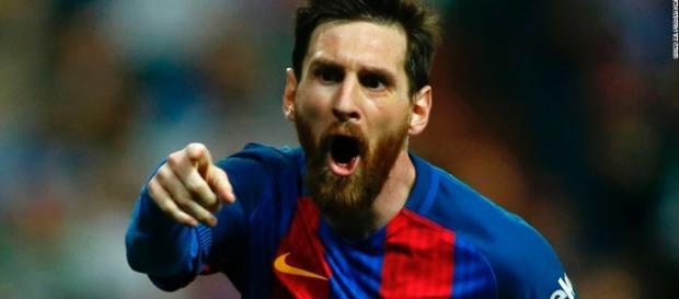 O craque e coiçado Lionel Messi