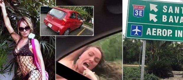 O femeie a murit la spital după ce s-a izbit cu capul de un semn de circulație - Foto: Daily Mail