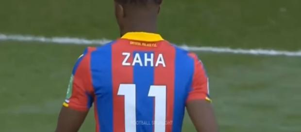 Zaha is the hero of the day for Palace - Youtube / Football Spotlight Channel