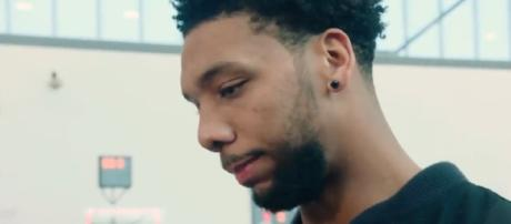 Jahlil Okafor wishes for a trade out of Philadelphia – image – Sixers media/Youtube