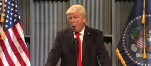 Alec Baldwin as Donald Trump, via Twitter