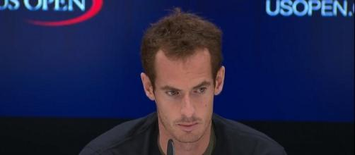 Andy Murray during a press conference prior to 2017 US Open/ Photo: screenshot via US Open Tennis Championships