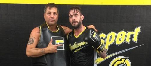 CM Punk continues to train with Duke Roufus in Milwaukee/ [Image via @dukeroufus/ Instagram]
