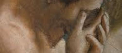 "Detail of Massacio's ""Expulsion from the Garden of Eden"" [Image - FAIR USE pinterest.com Creative Commons]"