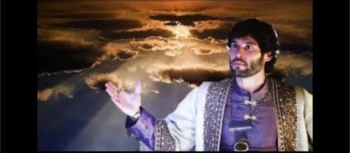 Deus salva Asher da morte em ''O Rico e Lázaro''